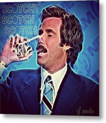 Scotchy Scotch Scotch Metal Print by J S