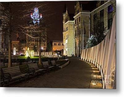 Scranton The Electric City Metal Print by Jim Cook