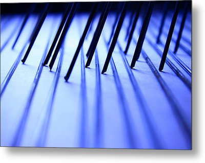 Scribble Metal Print by Mark  Ross