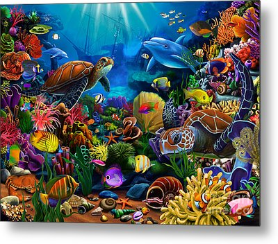 Sea Of Beauty Metal Print by Gerald Newton