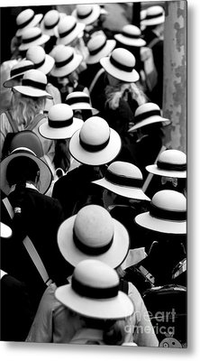 Sea Of Hats Metal Print by Avalon Fine Art Photography