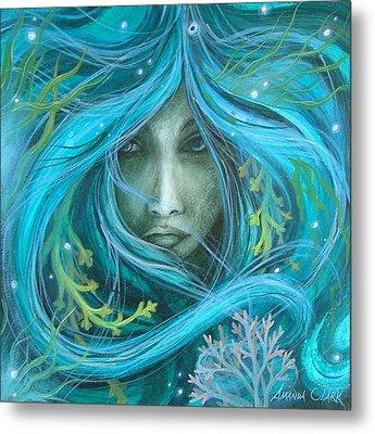 Sea Witch Metal Print by Amanda Clark