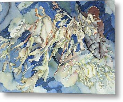 Seadragon Fantasy Metal Print by Liduine Bekman