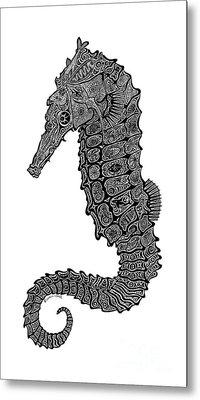 Seahorse Metal Print by Carol Lynne