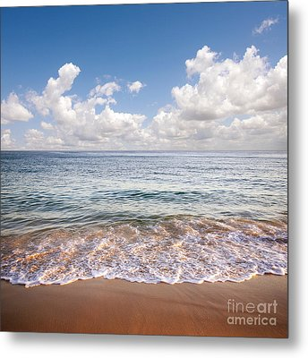 Seascape Metal Print by Carlos Caetano