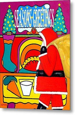 Seasons Greetings 16 Metal Print by Patrick J Murphy