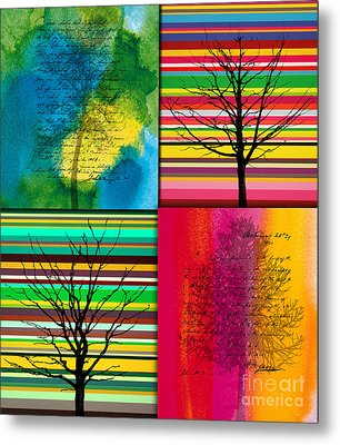 Seasons Metal Print by Ramneek Narang