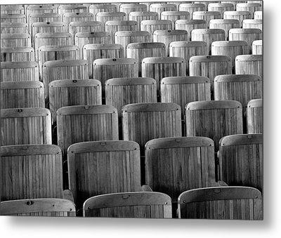 Seat Backs Metal Print by Todd Klassy