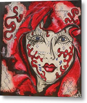 Secret Metal Print by Sladjana Lazarevic