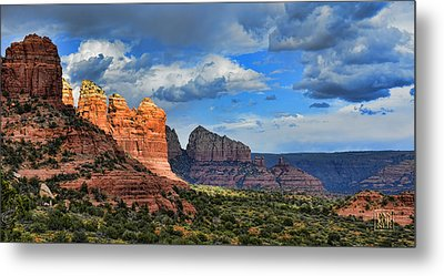 Sedona After The Storm Metal Print by Dan Turner