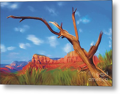 Sedona Red Rock Country Metal Print by Bob Salo