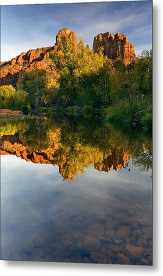 Sedona Sunset Metal Print by Mike  Dawson