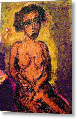 Seduction Metal Print by Noredin Morgan