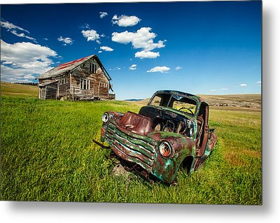 Seen Better Days Metal Print by Todd Klassy