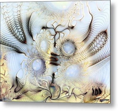 Sensorial Paroxysm Metal Print by Casey Kotas