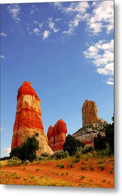 Sensuous Sandstone Metal Print by Christine Till