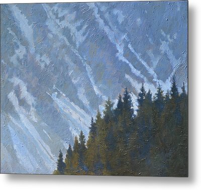 Seward Mountain Metal Print by Robert Bissett