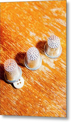 Sewing Tricks Metal Print by Jorgo Photography - Wall Art Gallery