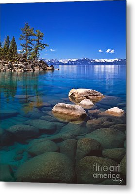 Shallow Water Metal Print by Vance Fox