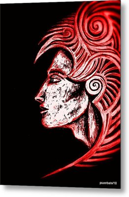 Shapes Metal Print by Paulo Zerbato