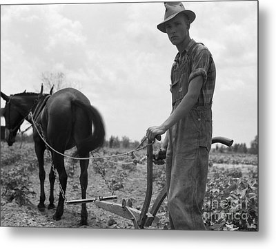 Sharecroppers Son, 1937 Metal Print by Granger