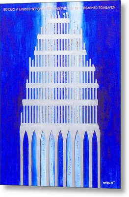 Shattered  Metal Print by Mordecai Colodner
