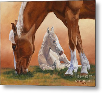 Sheltered Metal Print by Danielle Smith
