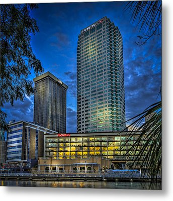 Sheraton Water Front Metal Print by Marvin Spates