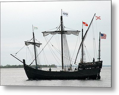 Ship 13 Metal Print by Joyce StJames