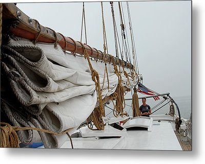 Ship 20 Metal Print by Joyce StJames