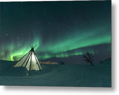 Sikka Metal Print by Tor-Ivar Naess