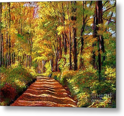 Silence Is Golden Metal Print by David Lloyd Glover