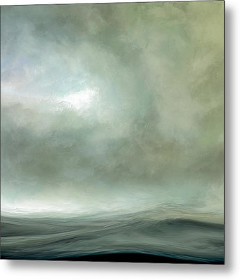 Silence Of The Deep Metal Print by Lonnie Christopher