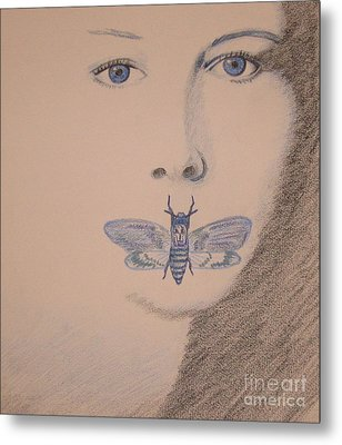 Silence Of The Lambs Metal Print by Kimberly Witz