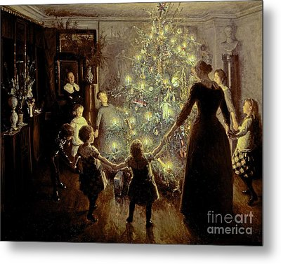 Silent Night Metal Print by Viggo Johansen
