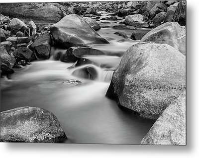 Silky Texture And Tones Metal Print by James BO Insogna