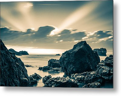 Metal Print featuring the photograph Silver Moment by Thierry Bouriat