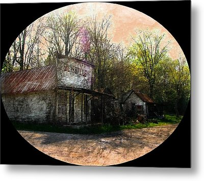 Silverville Ghost Town Metal Print by Julie Dant