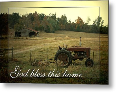 Simple Life Metal Print by Linda Fowler