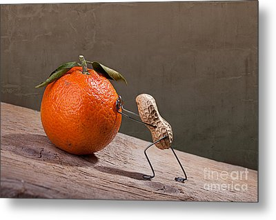 Simple Things - Sisyphos 01 Metal Print by Nailia Schwarz