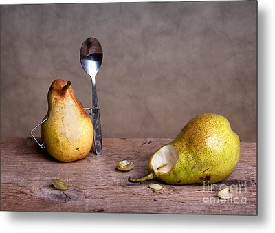 Simple Things 14 Metal Print by Nailia Schwarz