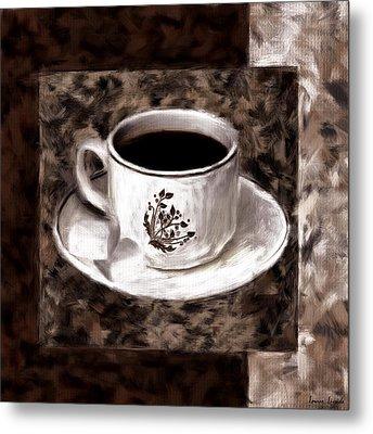 Simply Aromatic Metal Print by Lourry Legarde