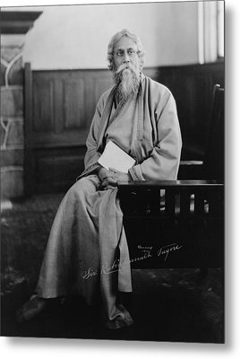 Sir Tagore Rabindranath, 1861-1941 Metal Print by Everett