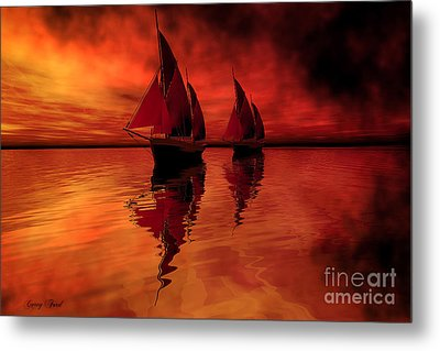 Siren Song Metal Print by Corey Ford