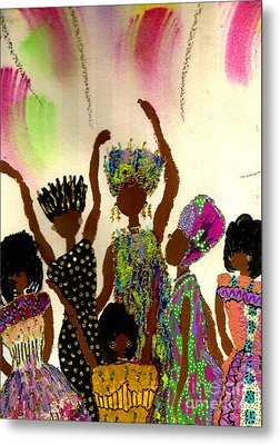 Sisterhood Metal Print by Angela L Walker