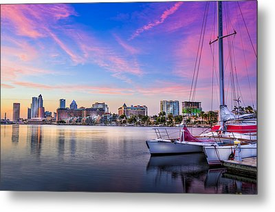 Sitting On The Dock Of The Bay Metal Print by Marvin Spates