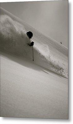 Ski4 Metal Print by Ryan Choate