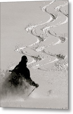 Ski6 Metal Print by Ryan Choate