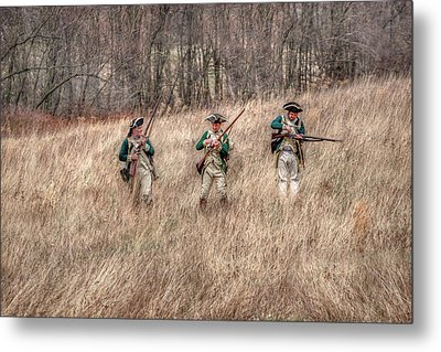 Skirmish Line Metal Print by Randy Steele