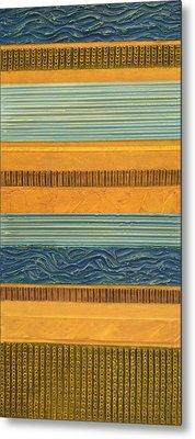 Sky Earth Water  Metal Print by Michelle Calkins